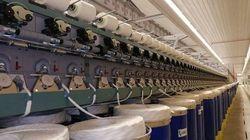 Exportation des fils de tissage vers quatre pays