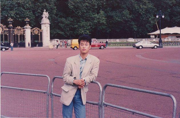 1998년 유럽 배낭여행 당시 영국 버킹엄 궁전