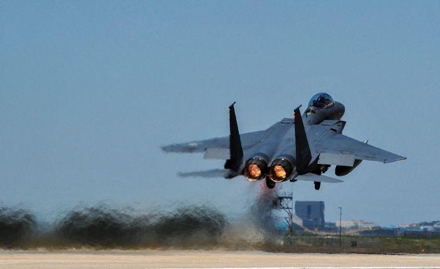 Αναχαίτιση κινεζικού πολεμικού αεροσκάφους από νοτιοκορετικά