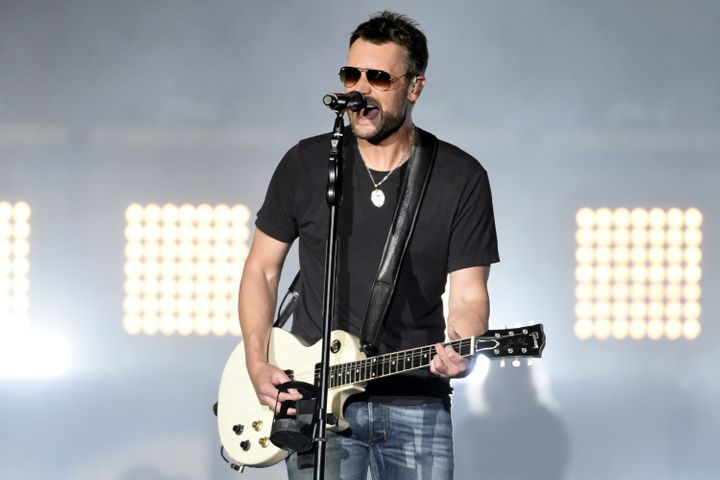 Eric Church was a headliner at the Route 91 Harvest festival last year, the same event where a mass shooting claimed the live