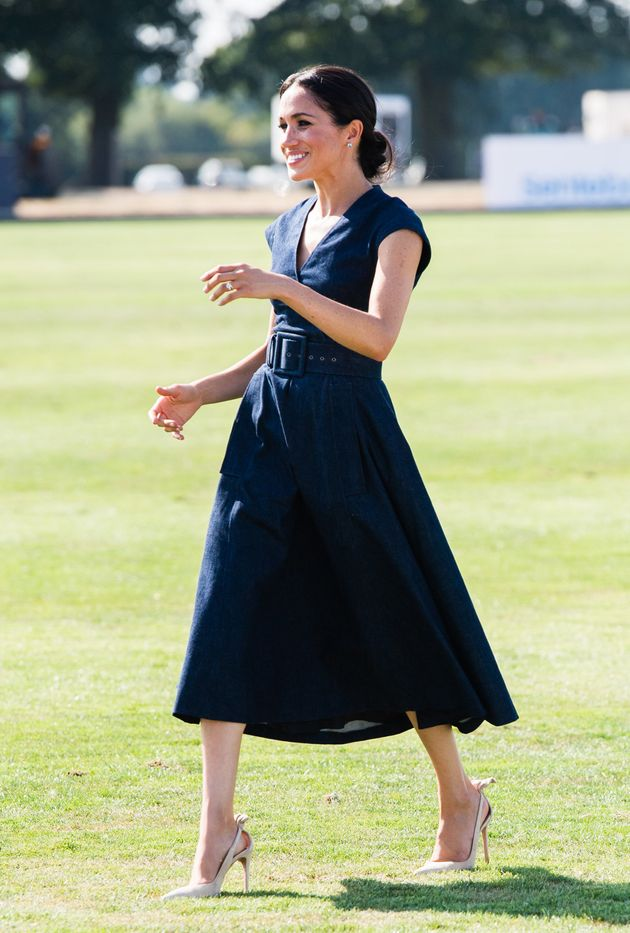 Looks We Love Meghan Markle S Denim Dress And Where To Get It For Less
