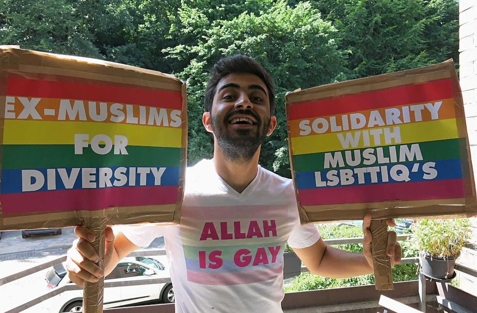 Amed Sherwan setzt sich für die LGBTQ*-Community
