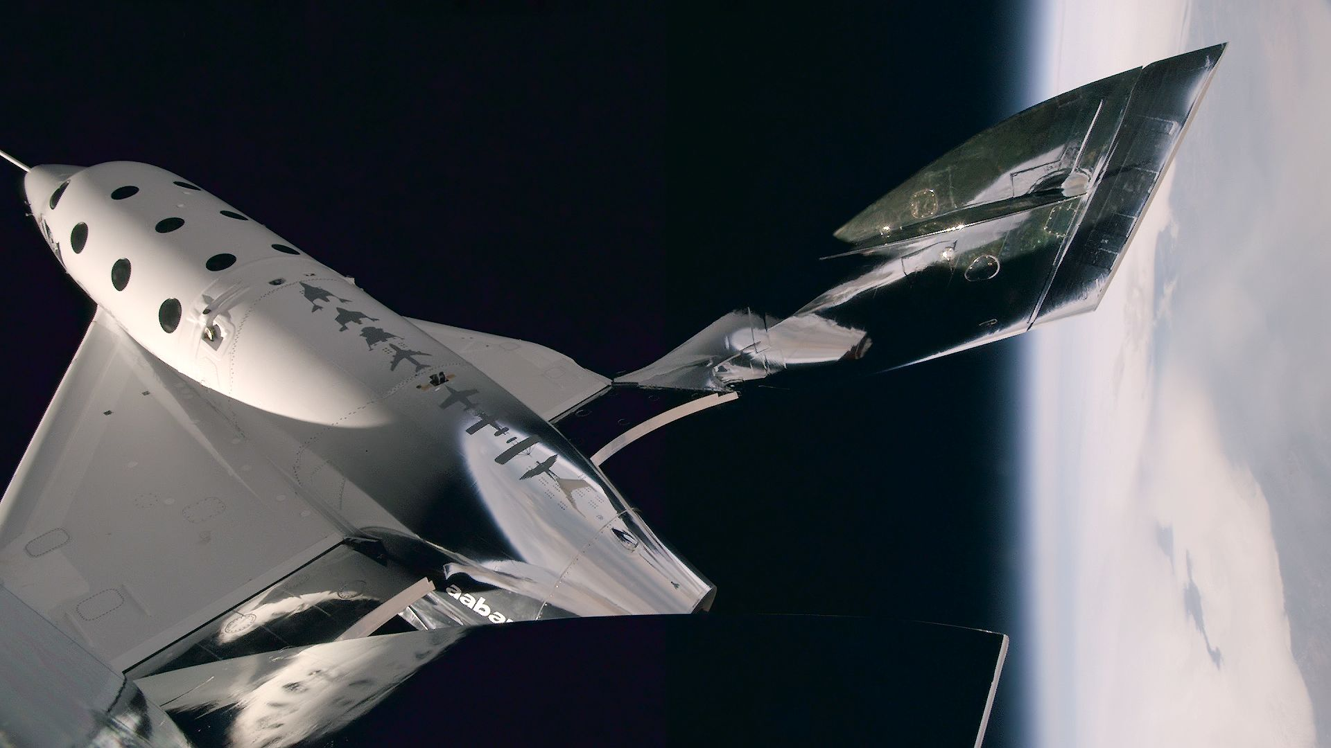 Virgin Galactic's Latest Test Flight Video Is