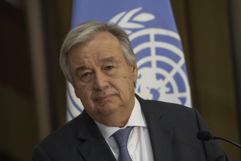 유엔 사무총장이 회원국들에게 '현금 고갈 위기'를