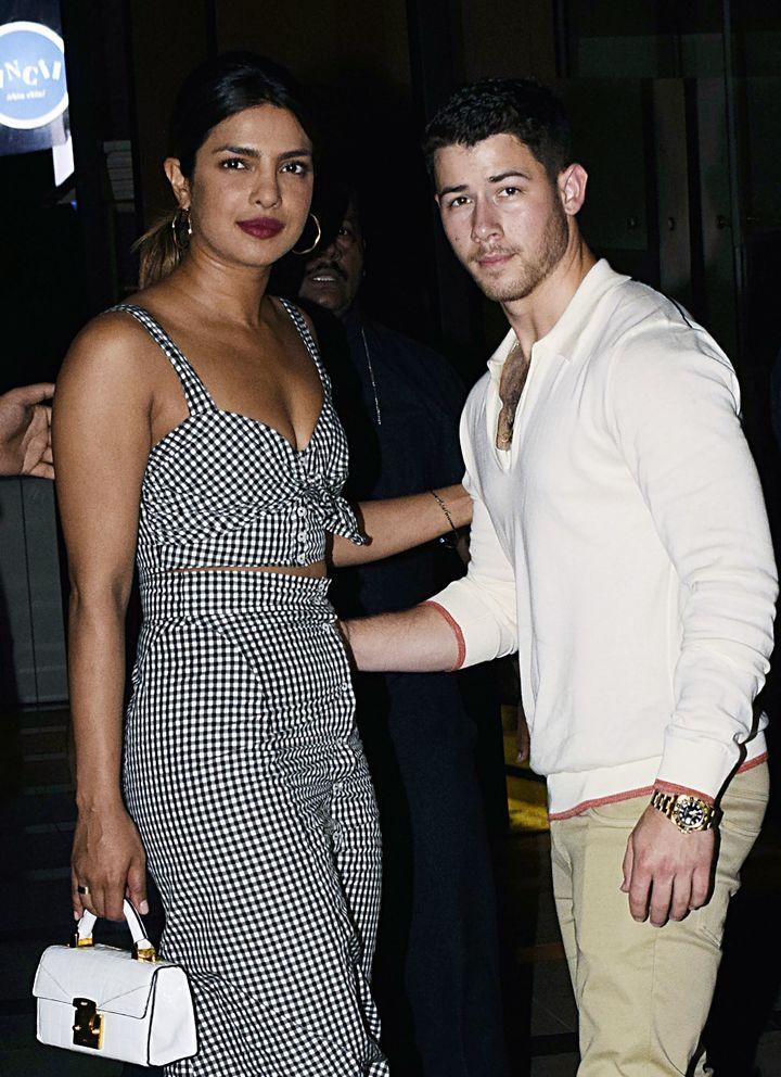 Priyanka Chopra and singer Nick Jonas spotted together in Mumbai.
