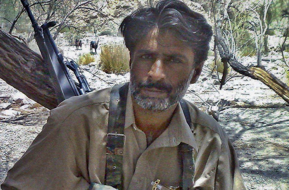 발루치스탄 반군 지도자알라 나자르 발로흐. 그는 발루치스탄 민족주의 운동을 이끌었고파키스탄 기득권과 거리를 두는 데 있어 덜 단호했던 다른 부족장들과는 매우 다른