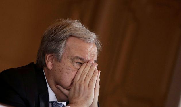 Ο Γ.Γ. του ΟΗΕ εξαίρει την ανταπόκριση των ελληνικών Αρχών στις