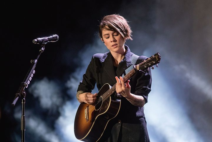 """When we started our band, it was no question we were going to be out and speak out about what we believed in,"" Tegan Quin of"