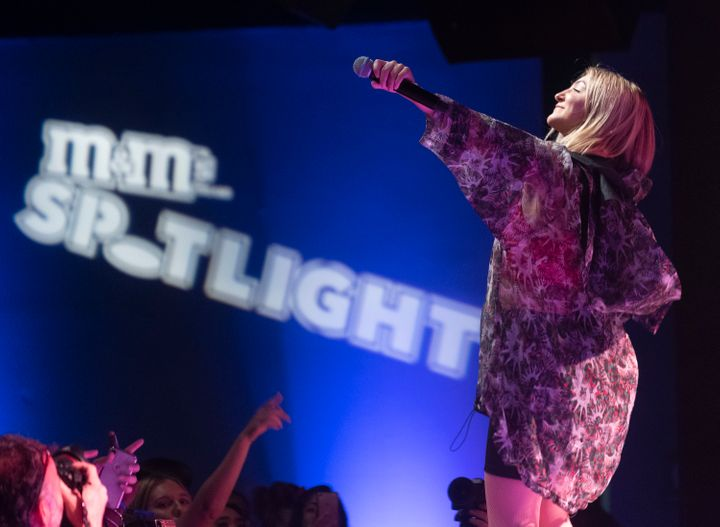 Julia Michaels performs at South Side Music Hall as part of the M&M's Spotlight concert series on July 25, 2018 in