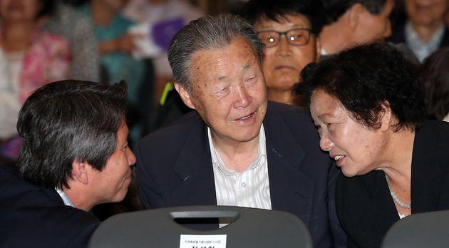 지난 2013년 6월 10일.제26주년 6ㆍ10 민주항쟁 기념식에 참석한 박정기씨의