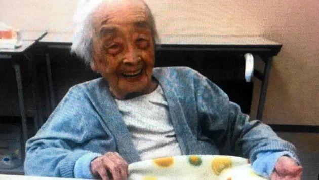 세계에서 가장 나이 많은 사람이 세상을