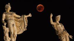 Les plus belles images de l'éclipse lunaire à travers le