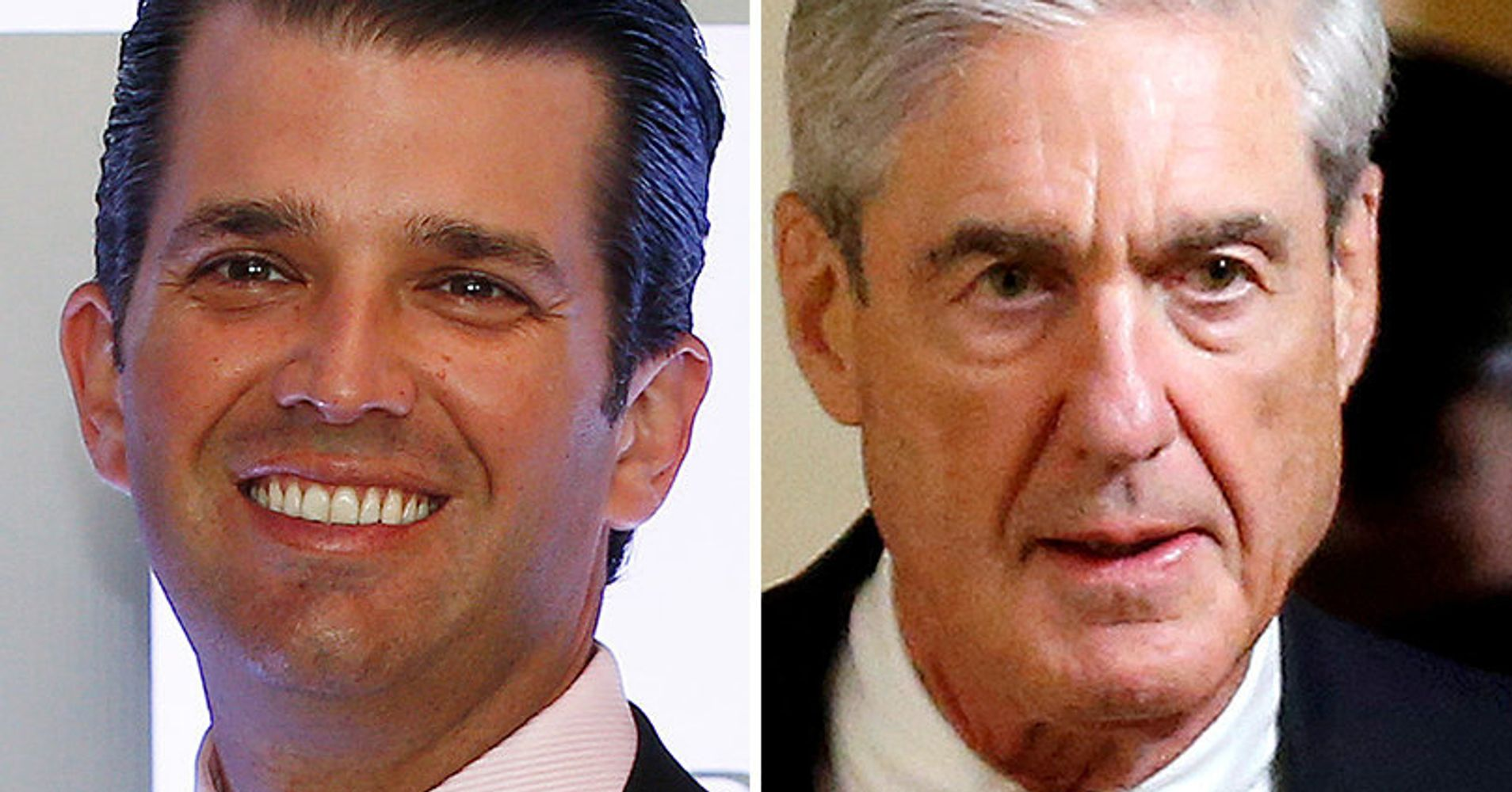 Donald Trump Jr And Robert Muellers Close Airport Encounter Is Now