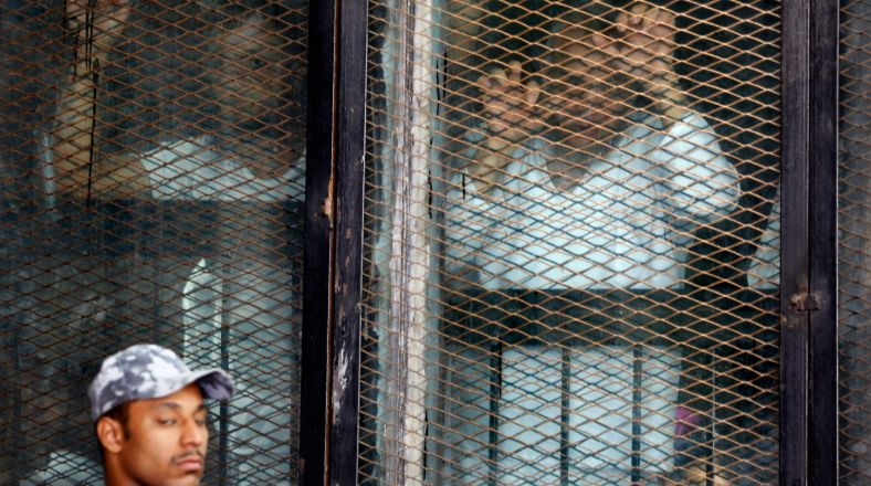 Egypt Court Sentences 75 To Death In 2013 Sit-In