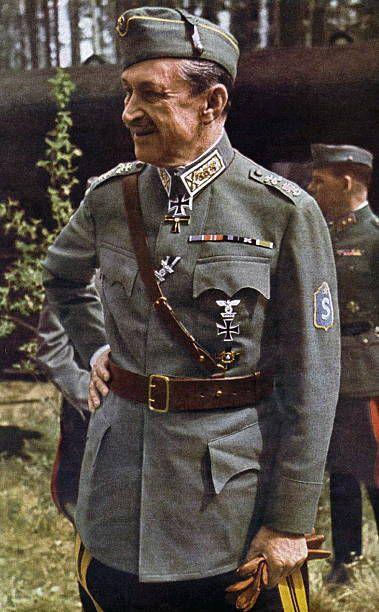 Ο στρατηγός Καρλ φον Μαννερχάιμ. Όντας διακεκριμένος αξιωματικός του τσαρικού ιππικού και με πολεμική...