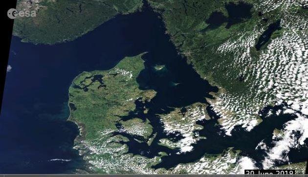 6월30일의 유럽. 녹색이 땅을 뒤덮고