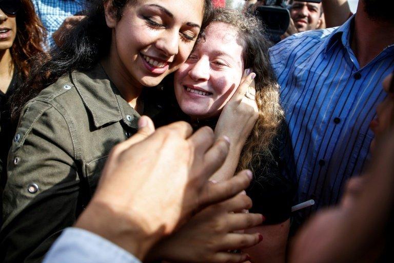 Palestine: libération de Ahed