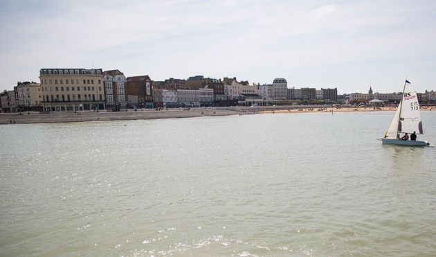 File photo of Margate Harbour in 2016. A girl aged 6 died after getting into difficulty in the sea on