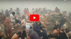 Νέο βίντεο-ντοκουμέντο από το Μάτι: Η αγωνία των κατοίκων στα βράχια της
