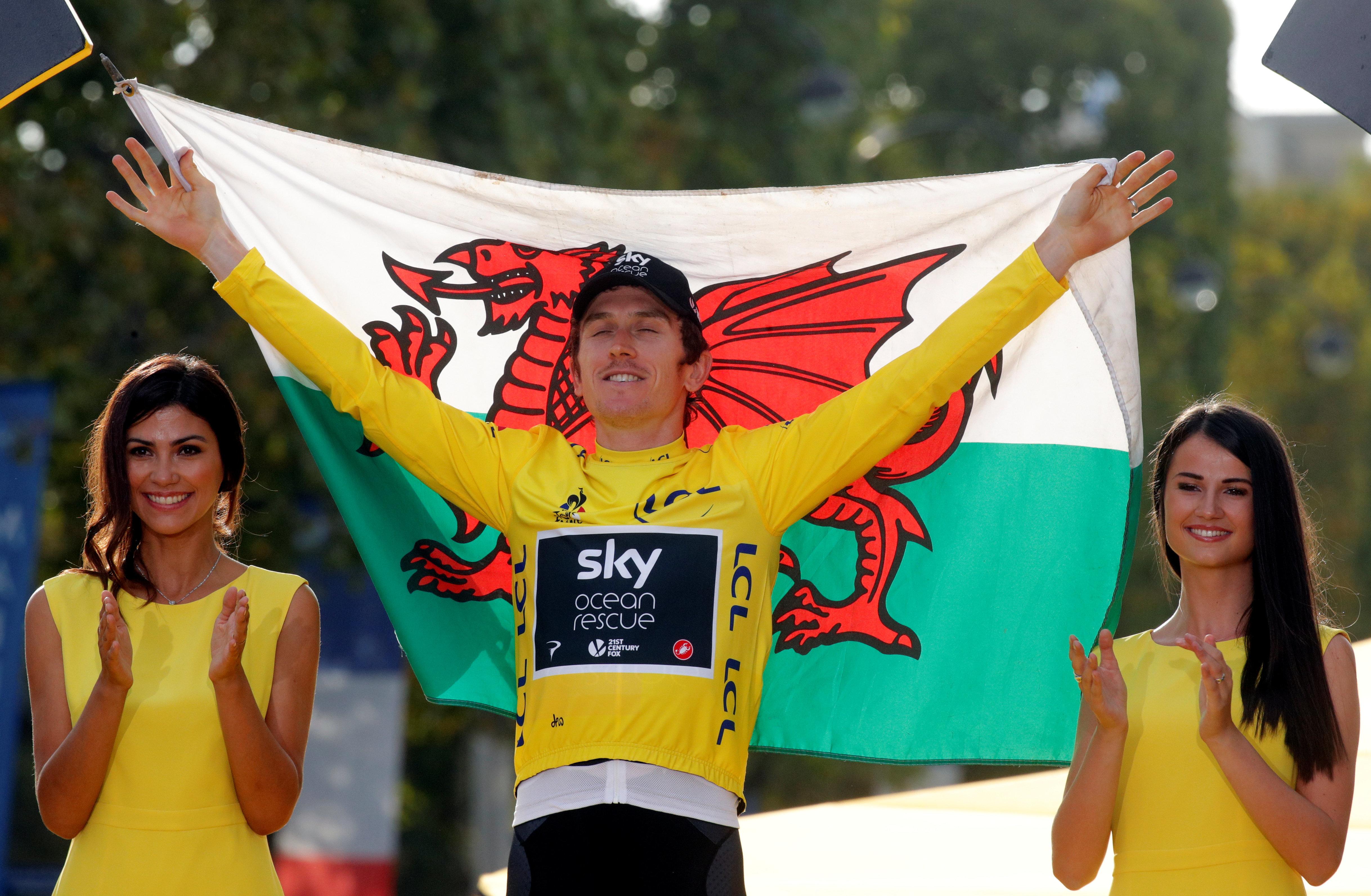 Welsh Rider Geraint Thomas Wins First Tour De France