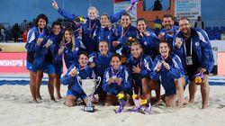 Πρωταθλήτρια κόσμου η Εθνική μπιτς χάντμπολ