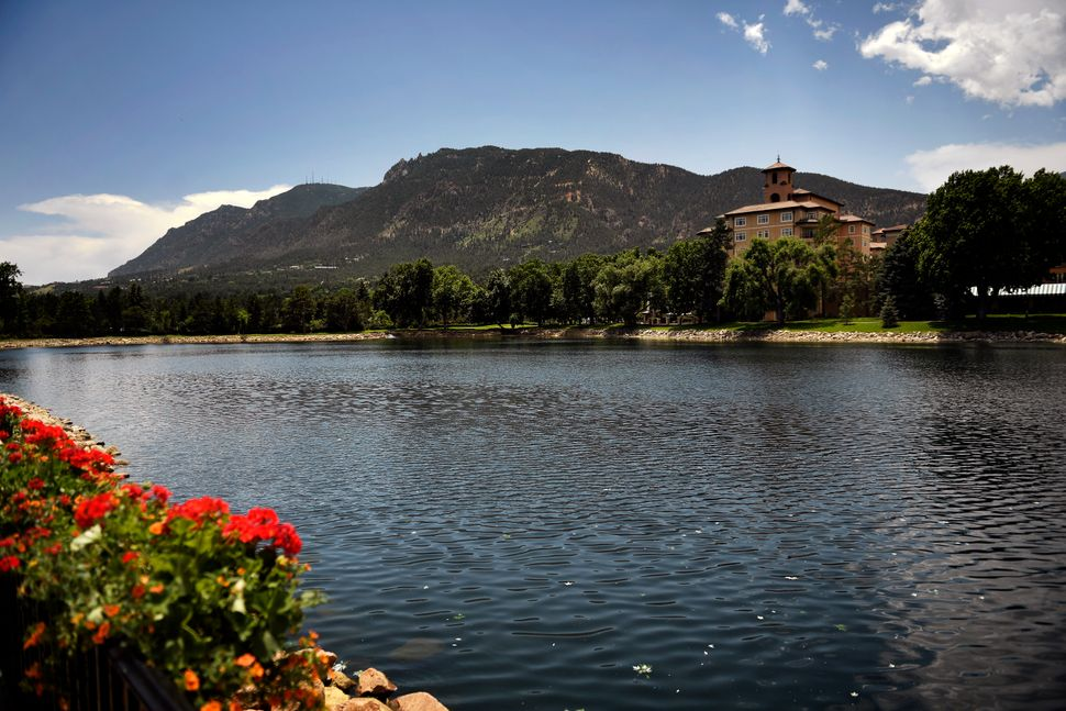 Donors to the Koch Network gathered at the luxurious Broadmoor Resort in Colorado Springs.