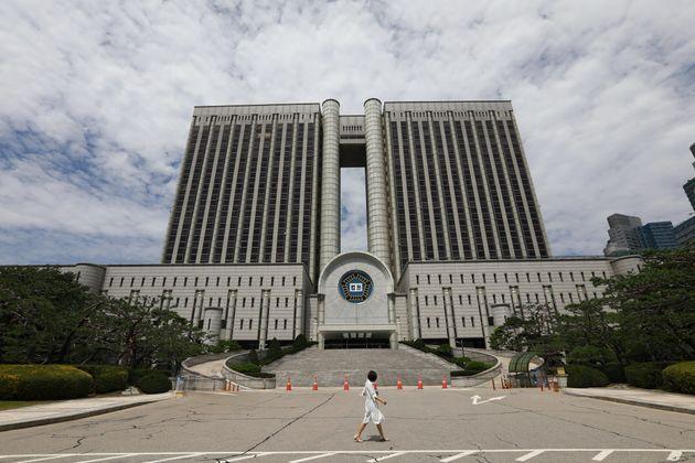 헌법재판소가 '법원 앞 집회금지는 위헌'이라고