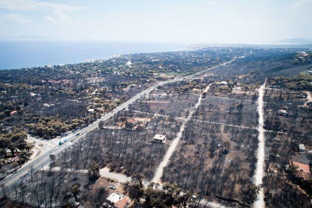 Λεπτομερής εκτίμηση από το Αστεροσκοπείο Αθηνών των καμένων εκτάσεων στο