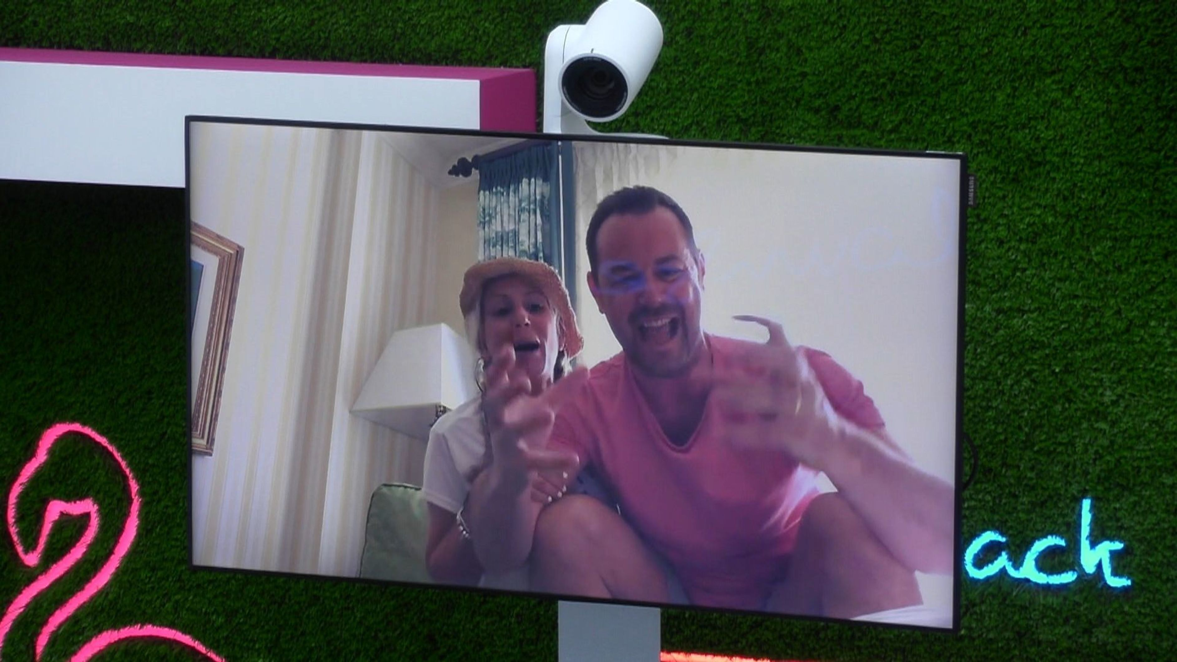 Danny Dyer's 'Love Island' Skype Call Fast Becomes One Of The Series'