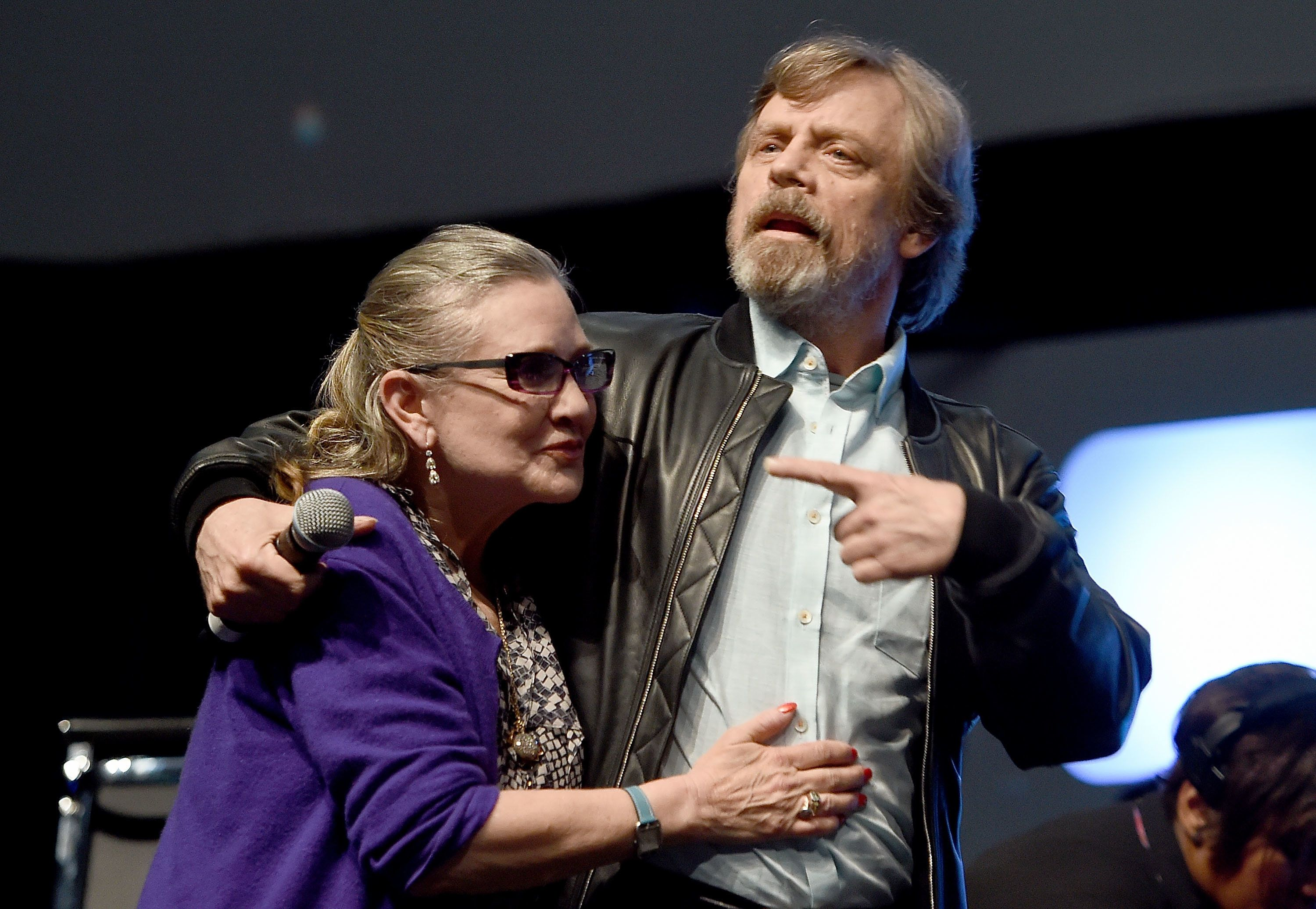 Mark Hamill Says It's 'Bittersweet' To Face Final 'Star Wars' Chapter Without Carrie