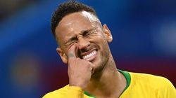 네이마르가 '월드컵 오버액션'을 인정하며 한