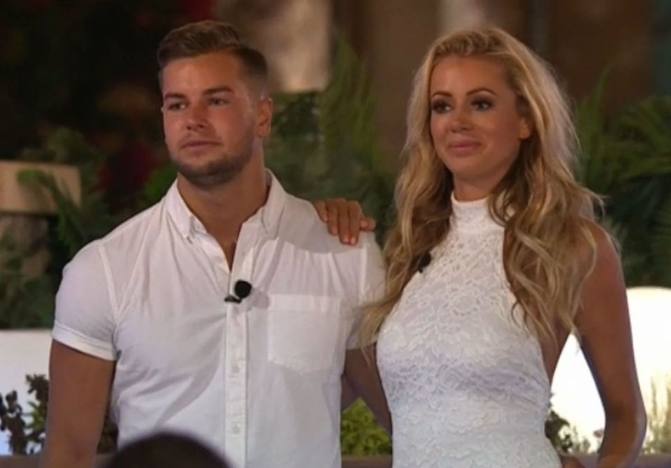 Chris and Olivia Attwood came third in 2017, when Kem Cetinay and Amber Davies were named