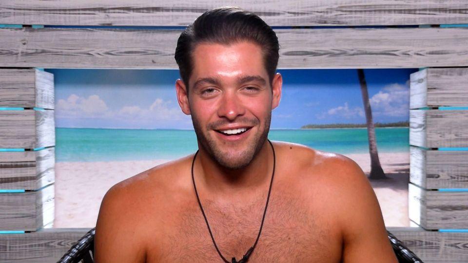 Jonny's stint on'Love Island' lasted 38