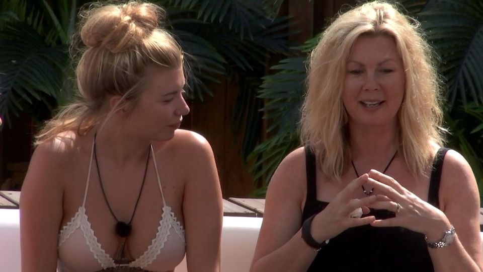 Olivia's mum flew out to Mallorca for the 'Love Island' parents' visit