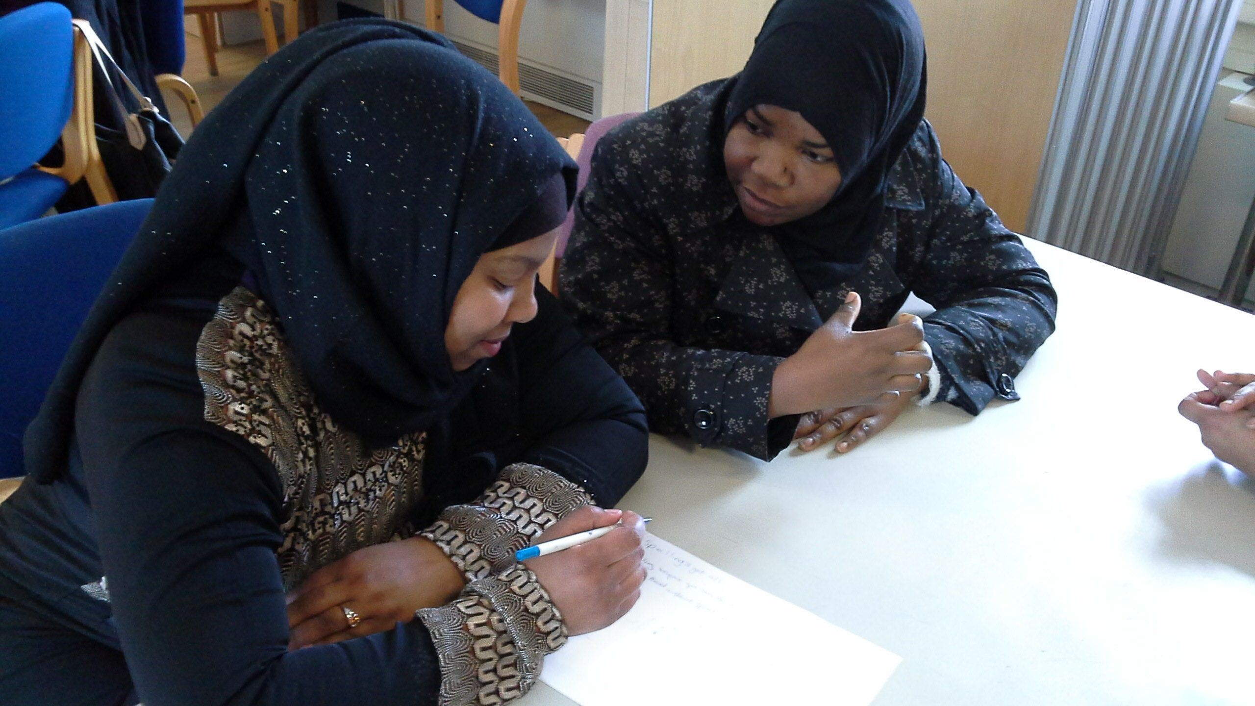 This Empowering Class Teaches Migrant Women English – And Also How To