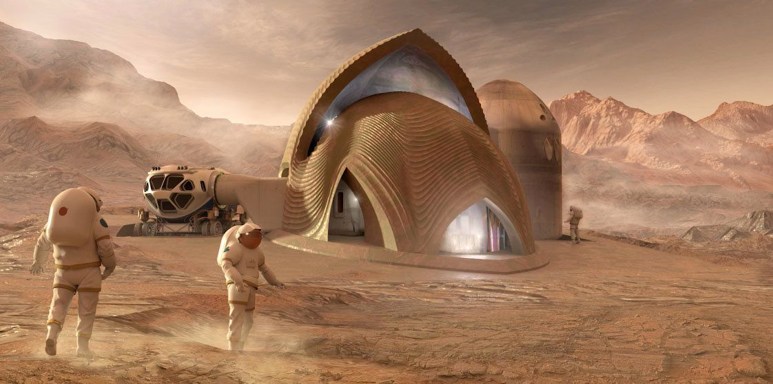 This Is What NASA Thinks A Home On Mars Could Look