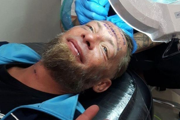 Fundraising Campaign Launched For Homeless Man 'Paid £90' To Get Tattoo On