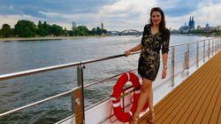 Julia unterwegs - auf Tauffahrt mit der MS Vista