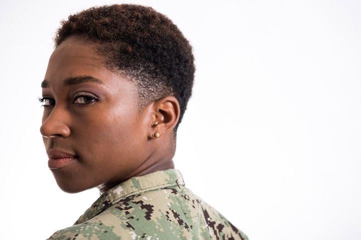 Lt. Tiffany D. Pearson is excited about the changes to the U.S. Navy's hair policy, which now embraces natural hairstyl