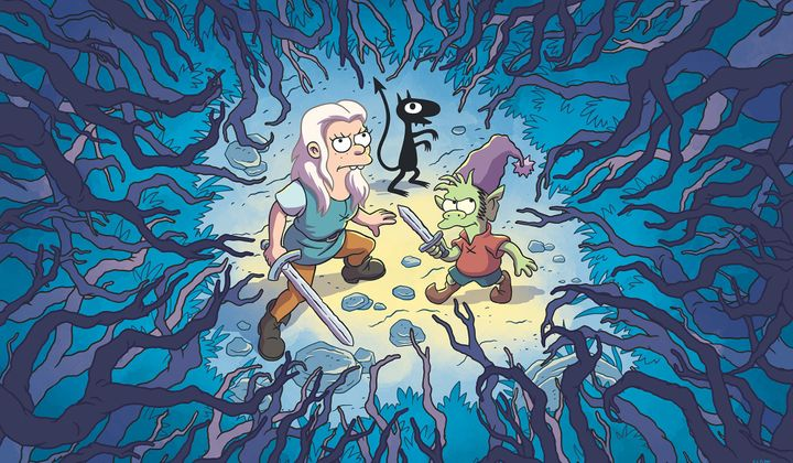"""Disenchantment"" comes to Netflix on August 17."