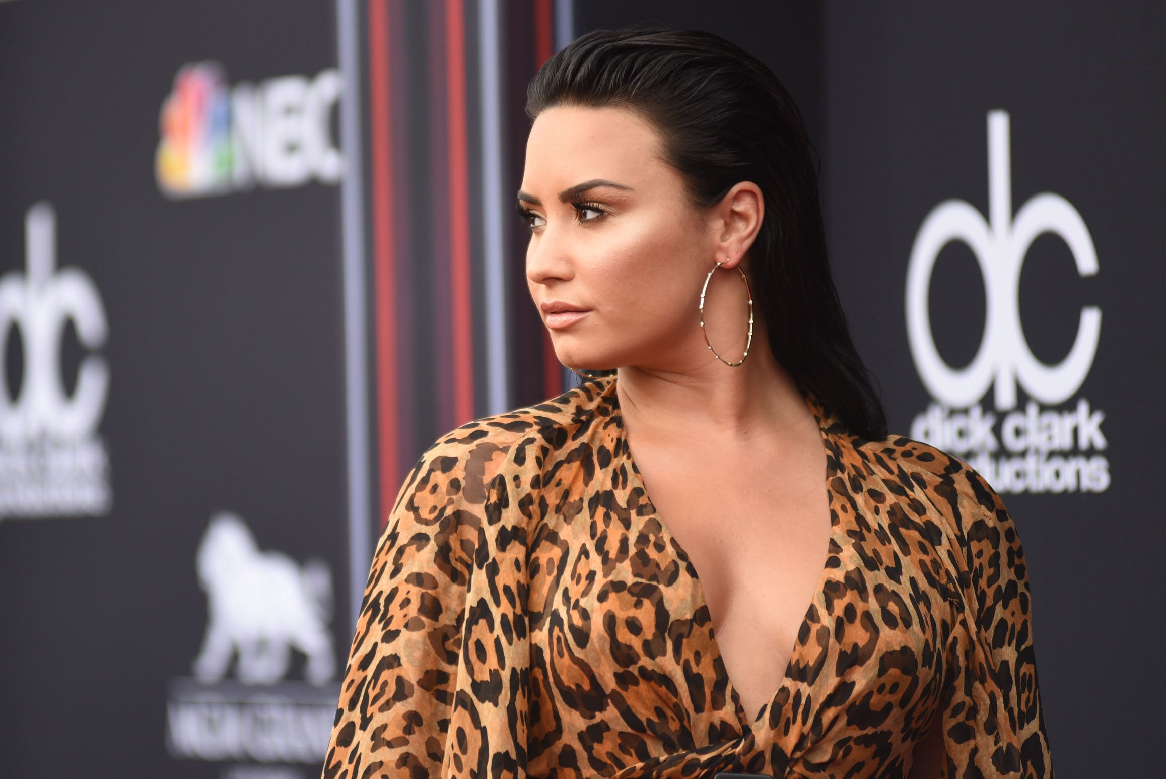 BILLBOARD MUSIC AWARDS --  Red Carpet Arrivals -- 2018 BBMA's at the MGM Grand, Las Vegas, Nevada -- Pictured: Demi Lovato -- (Photo by: Brian Friedman/NBC/NBCU Photo Bank via Getty Images)