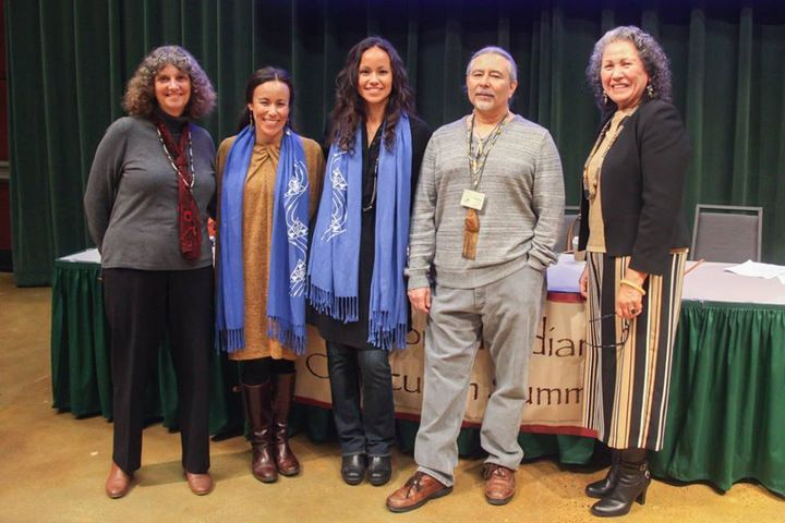 Native American teachers and activists meet regularly to create K-12 curriculum about California's indigenous inhabitants