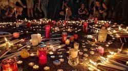 Ένα κερί και μια υπόσχεση. Πλήθος κόσμου στο Σύνταγμα στη μνήμη των νεκρών της