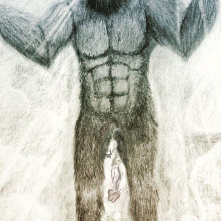 Bigfoot's ghost penis.