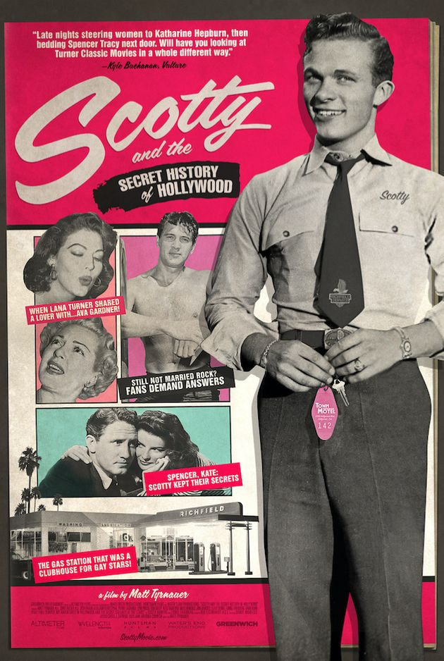 "A movie poster for ""Scotty and the Secret History of"