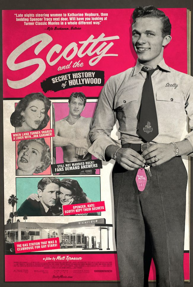 """A movie poster for""""Scotty and the Secret History of Hollywood."""""""