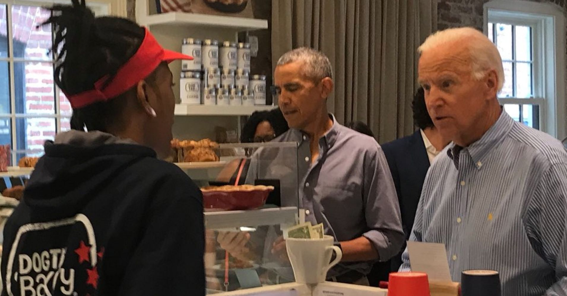 Obama And Biden Reunite For Lunch In D.C.