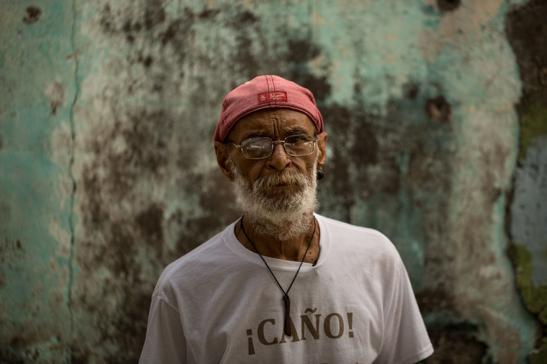 José Caraballo Pagán, a community activist and government worker, has lived near El Caño since 1963. He