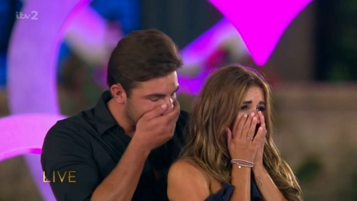 Dani Dyer And Jack Fincham Crowned Winners Of 'Love