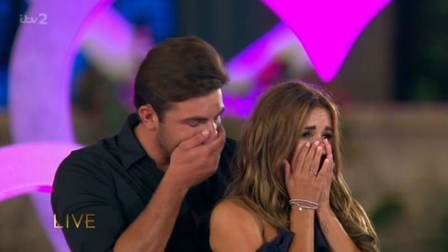 Jack Fincham and Dani Dyer have won this year's 'Love